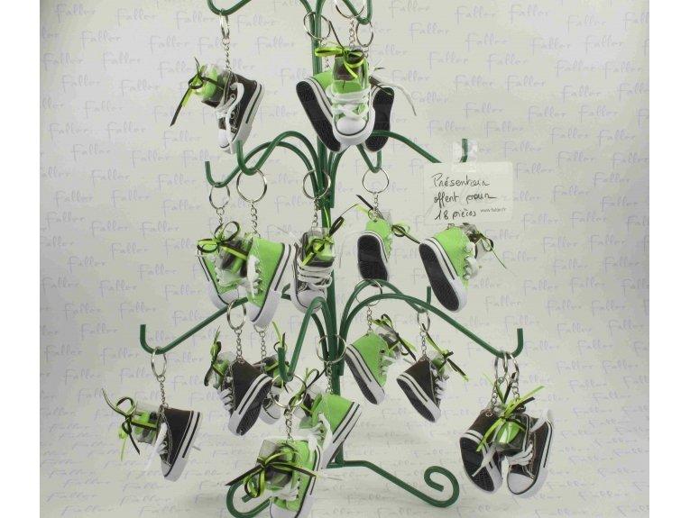 Presentoir branche vert