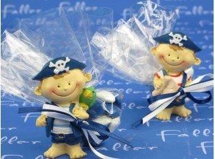 Pirates Garçons avec dragées baptême