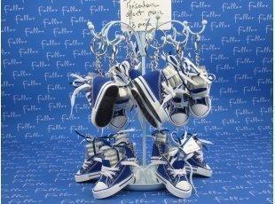 Presentoir basket bleu
