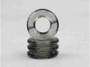 Socle anneau gri pour boule plexi