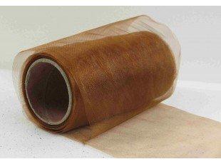 Rouleaux organza marron (pm)