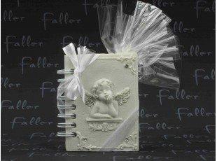 Petit livre ange avec dragees de communion