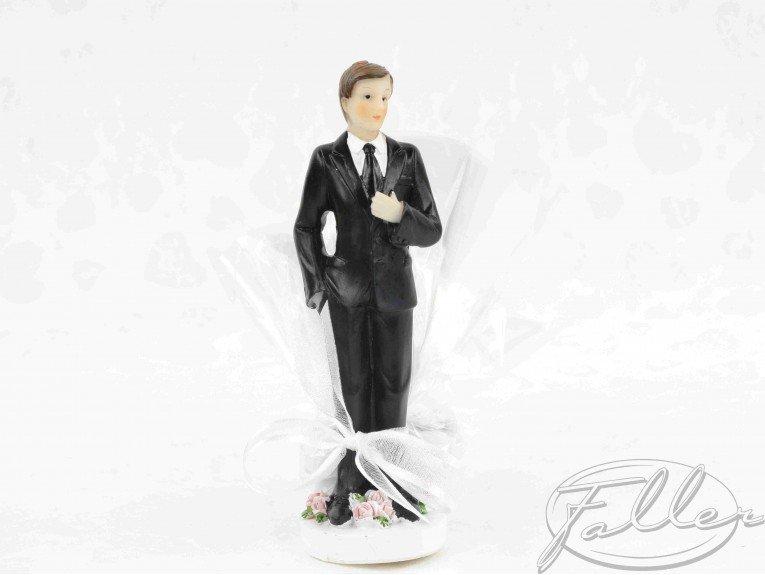 Figurine homme marié avec dragées