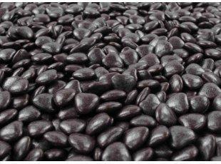 Dragées mini-coeurs marron chocolat (500 gr)