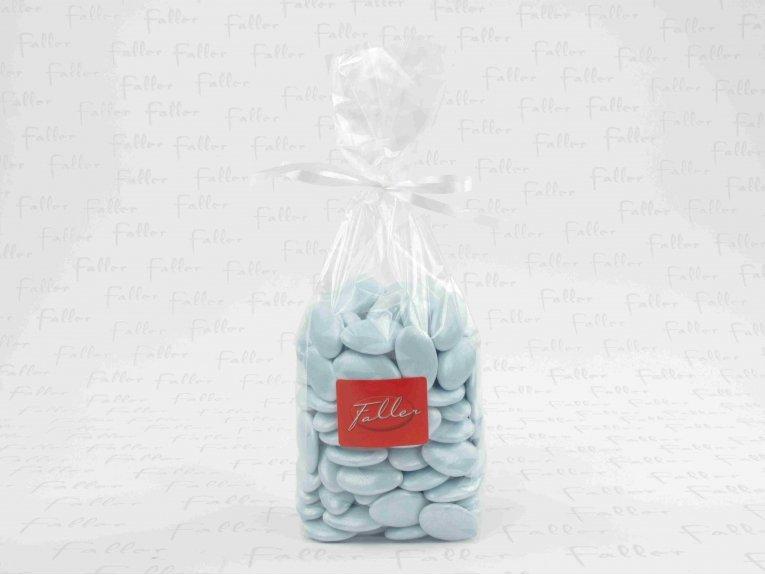 Dragées bleu ciel (sachet 500 gr.)