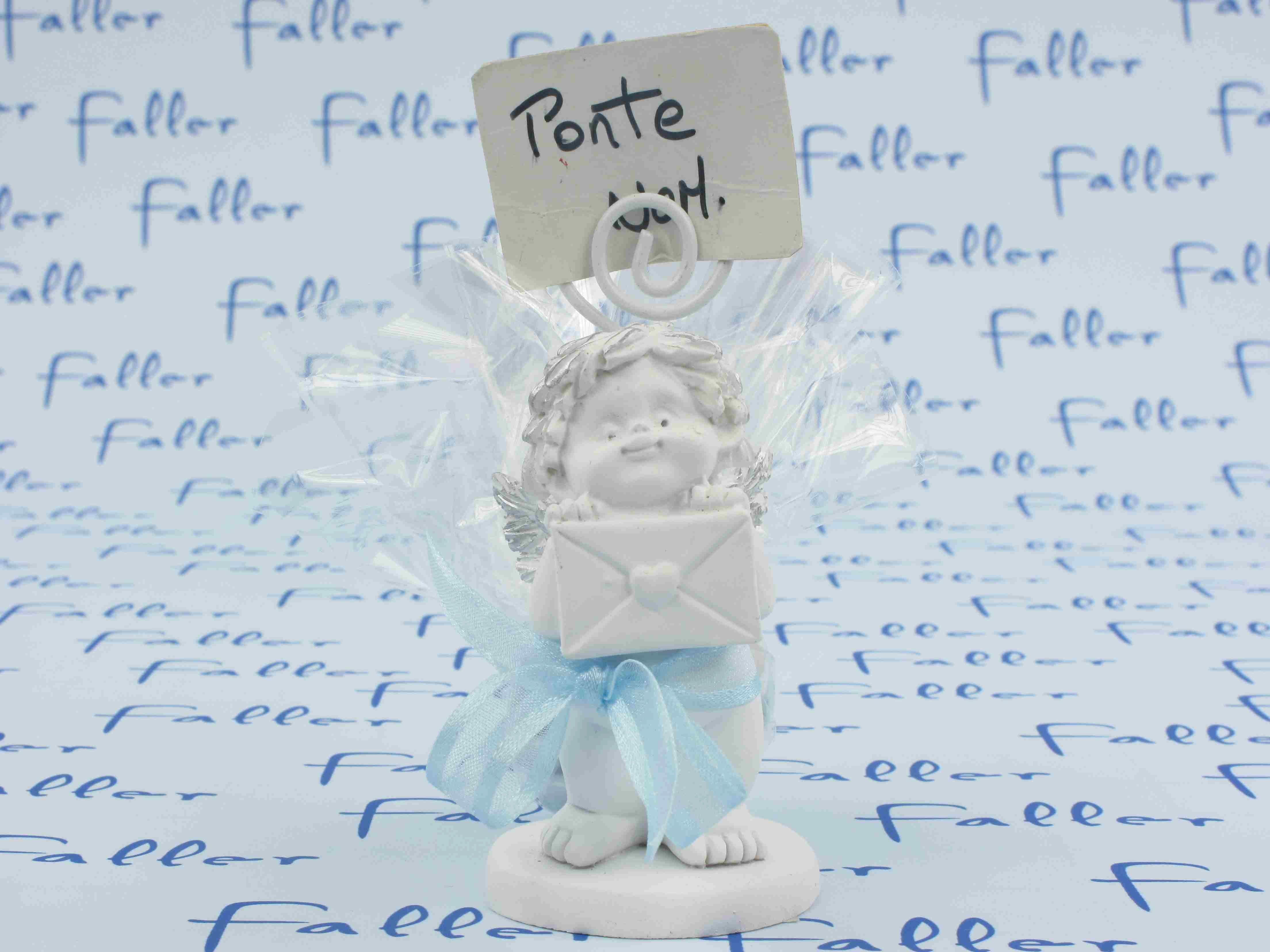 Bebe ange porte photo avec dragees garcon - Porte photo bapteme garcon ...