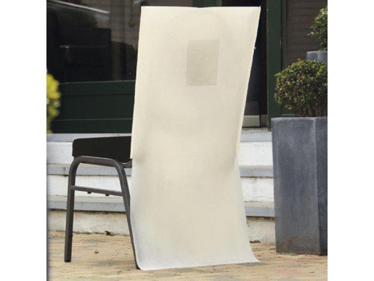 Housse chaise avec poche pas cher ecru - Housse chaise pas cher ...