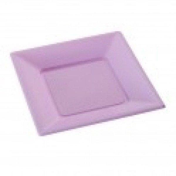 Petite assiette en plastique couleur lilas - Petites pochettes plastiques ...