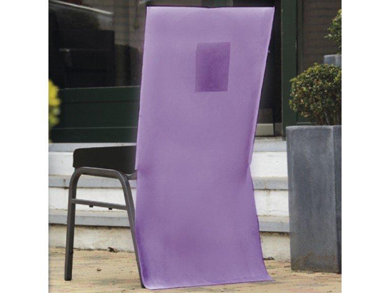 Housse chaises lilas avec poche