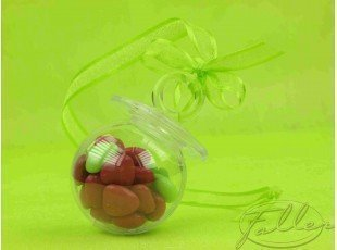 Tetine plexi anis fuchsia (dragees chocolat)