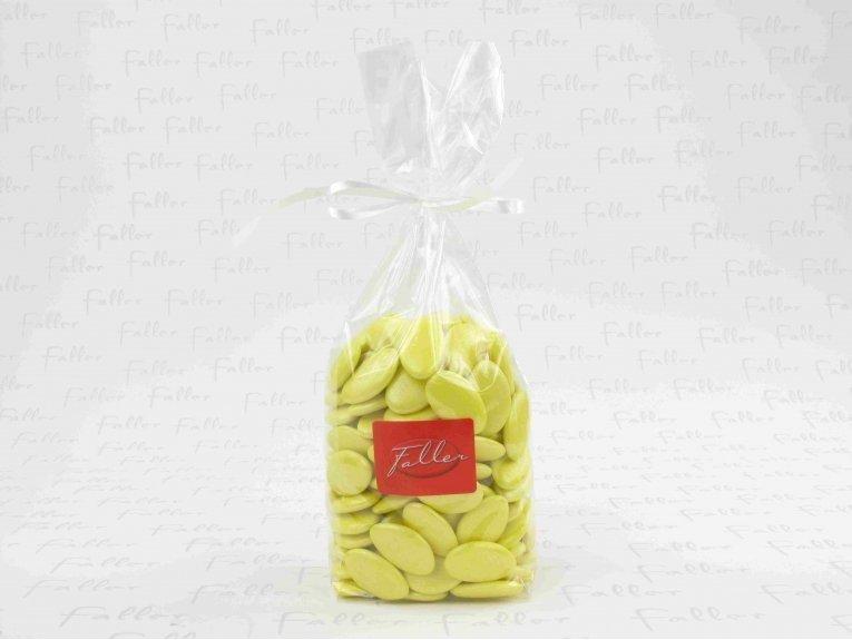 Dragées jaune soleil (sachet 500 gr)