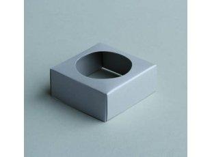 Socle gris pour boule à dragées en plexi (5cm)