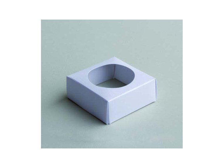 Socle blanc pour boule plexi 5cm