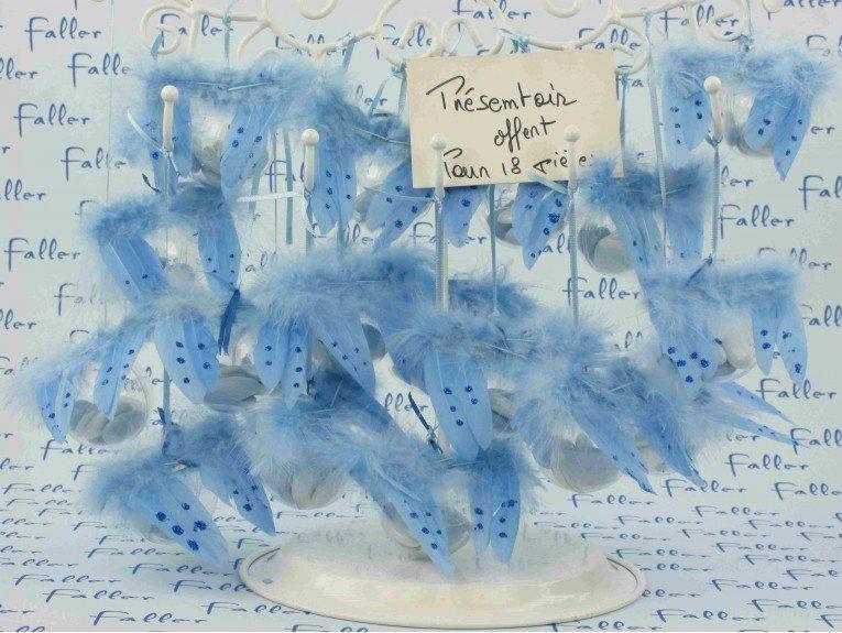 aile d ange avec dragees bapteme garcon theme bleu. Black Bedroom Furniture Sets. Home Design Ideas