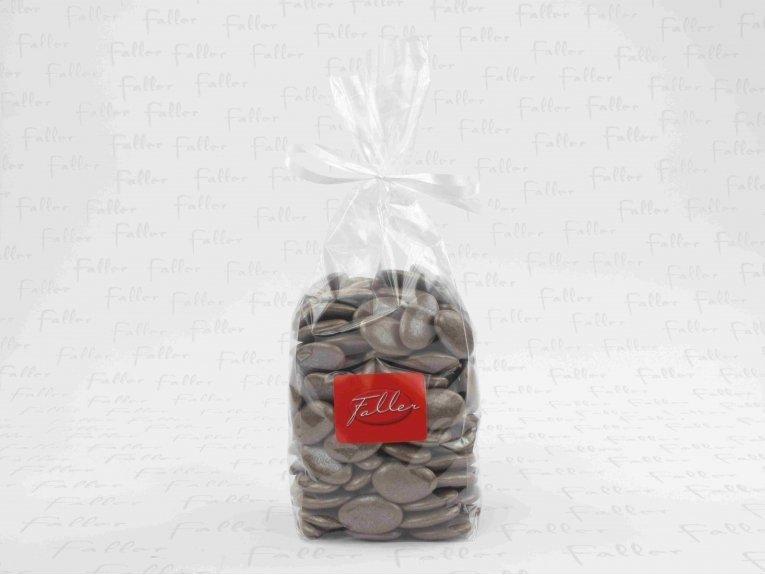 Dragées chocolat couleur taupe (sachet de 1 kilo)