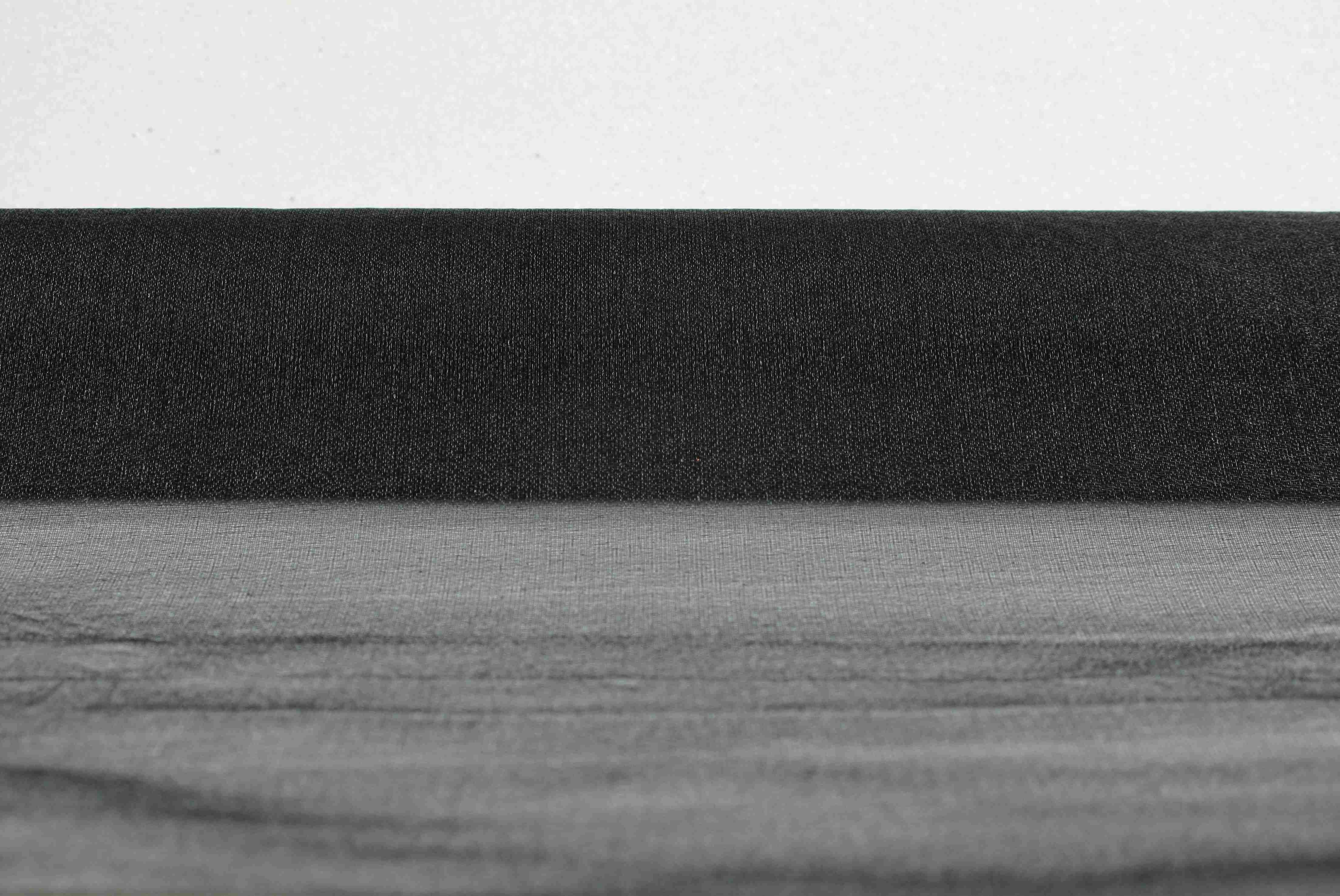 Chemin de table organza noir for Chemin de table personnalise