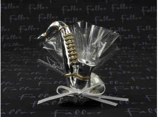 Instruments de musique avec dragées de mariage