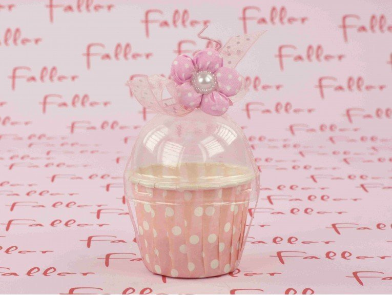 Pot avec deco rose dragees bapteme fille for Decoration bapteme fille
