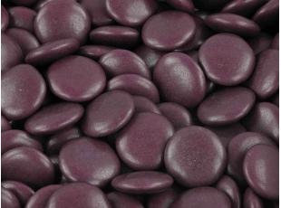 Sachet de Dragées Confettis chocolat mauve 500 gr