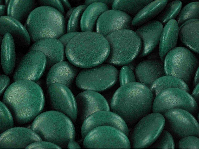 Sachet de confetti chocolate vert sapin