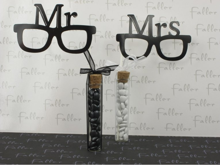 Accessoires photo mariage Mr. & Mrs.