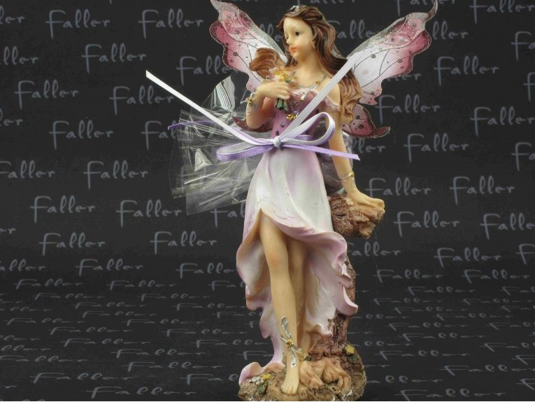 Grande elfe lilas avec dragées