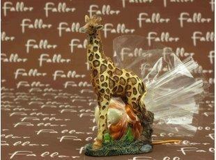 Petite figurine girafe de qualité et dragées baptême