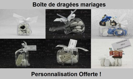Boite Dragées Mariage