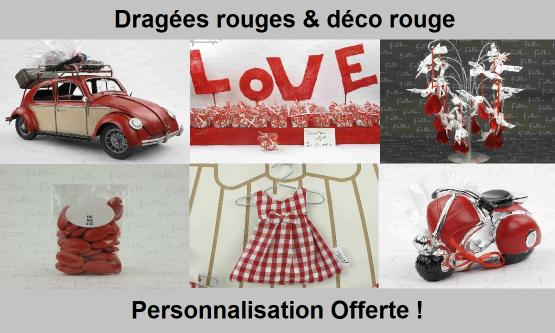 Dragées Rouge