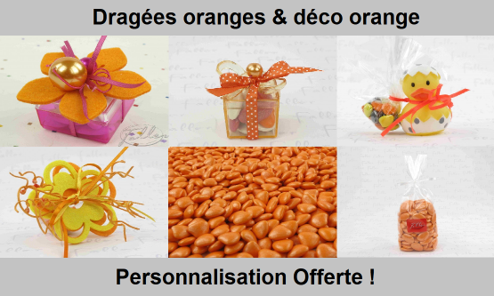 Dragées Orange