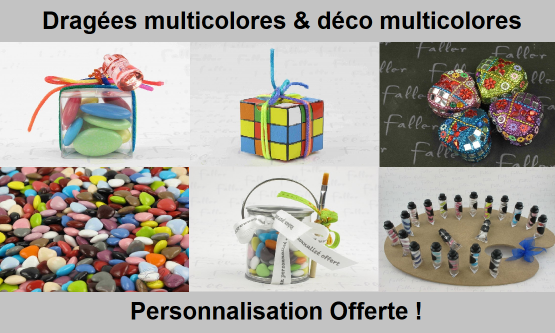 Dragées Multicolores