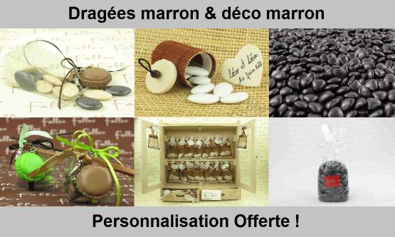 Dragées Marron