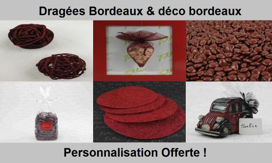 Dragées Bordeaux