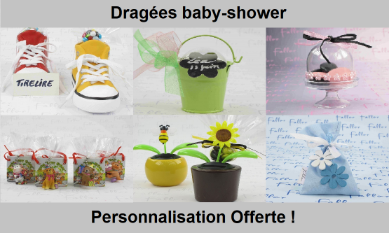 Dragées Baby-Shower