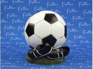Grande tirelire ballon de foot et dragées garçon