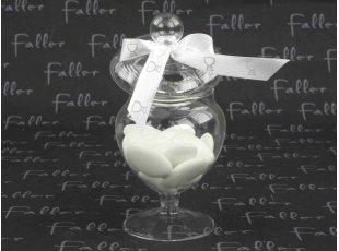 Bonbonnière à dragées communion avec ruban calice