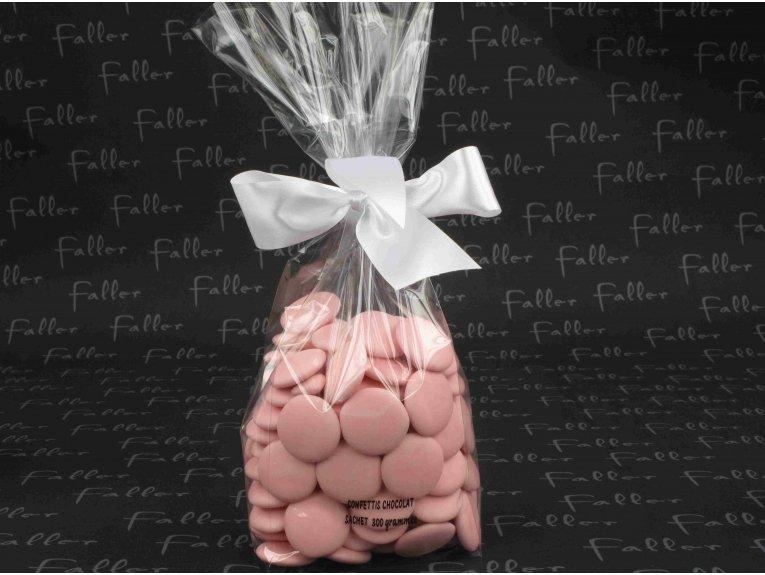 Confettis rose sachet de 300 grammes pour vos tables