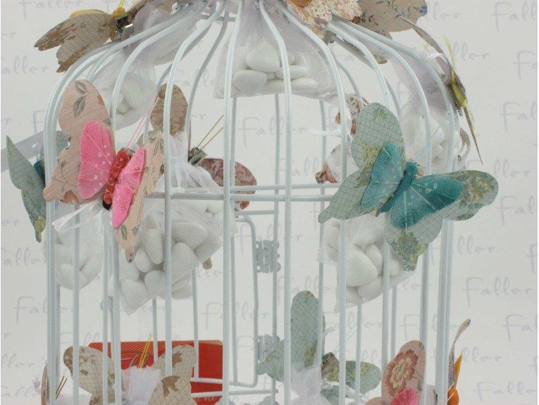 Envolée de papillons pour baptême avec dragées