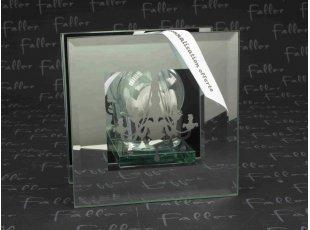 Porte bougie lustre miroir de mariage