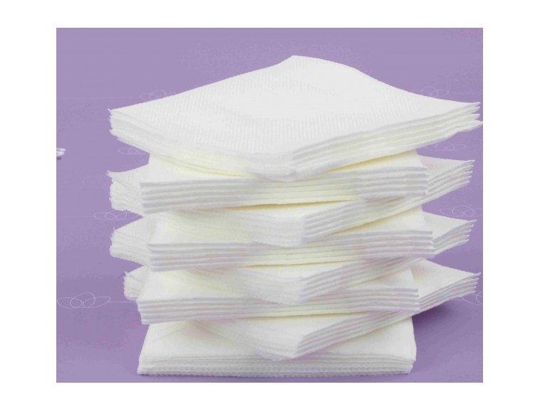 Servitte cokatail blanche  paquet de 40 pièces