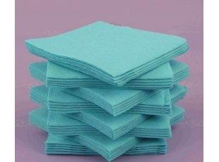 Servitte coktail bleue paquet de 40 pièces