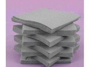 Servitte cokatail grise paquet de 40 pièces