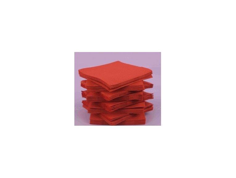 Servitte coktail rouge paquet de 40 pièces