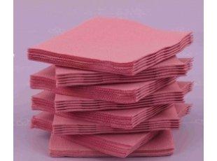 Servitte coktail rose paquet de 40 pièces