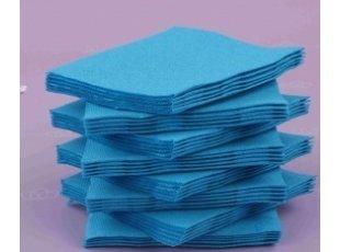 Servitte cokatail turquoise paquet de 40 pièces