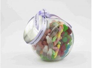 Bonbonnière garnie de bonbons (sans gélatine de porc)