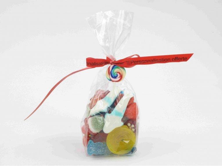 Sachet de bonbons assortis (160 gr.)
