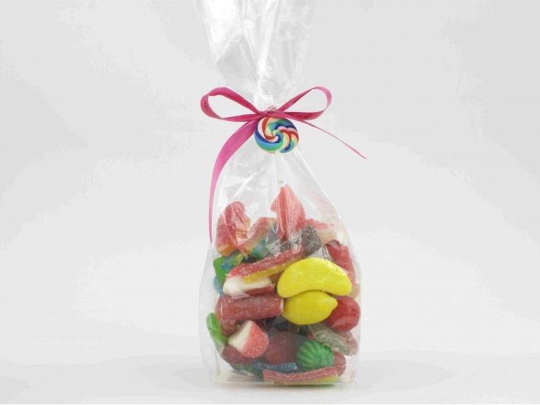 Grand sachet de bonbons sans gélatine de porc