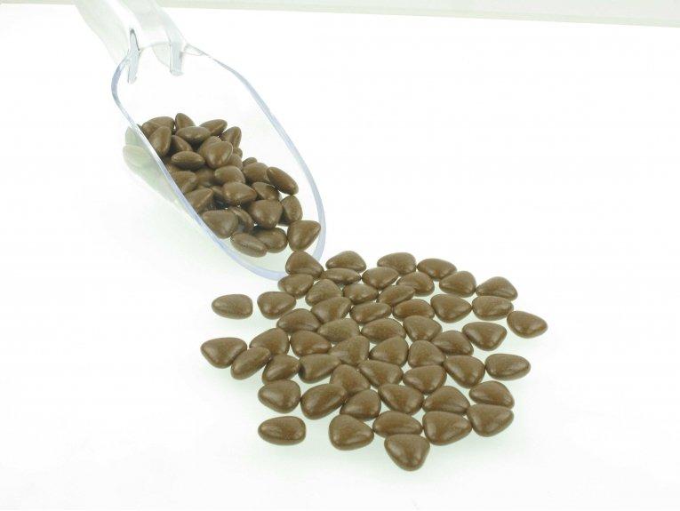 Dragées cœur  taupe au chocolat