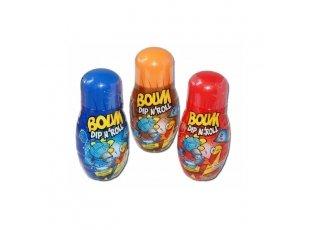 Boum dip roll framboise grenade